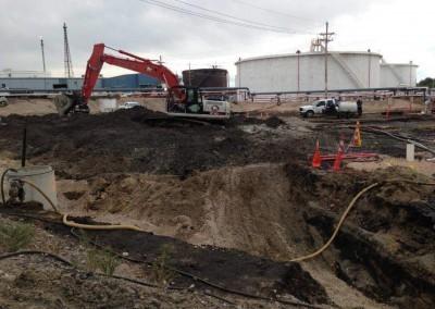 Refinery Soil Remediation